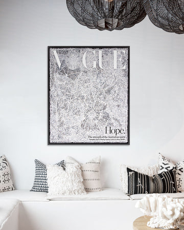 Hope.-Vogue Cover-Fine art print from FINEPRINT co