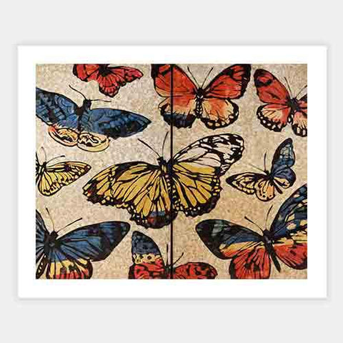 Lacquered Butterflies