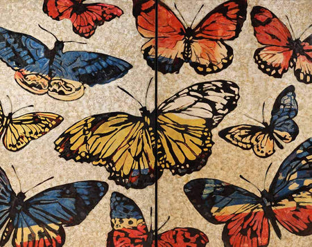Lacquered Butterflies by David Bromley - FINEPRINT co