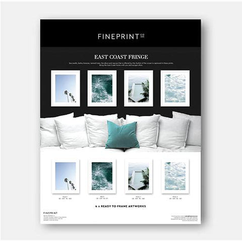 RAW - Coastal Fringe by FINEPRINT co - FINEPRINT co