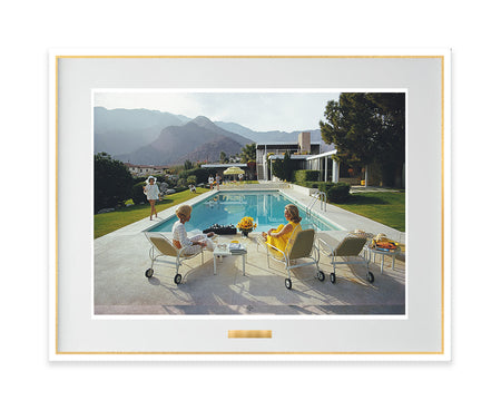 Poolside Gossip 50th Anniversary-Slim Aarons-Fine art print from FINEPRINT co