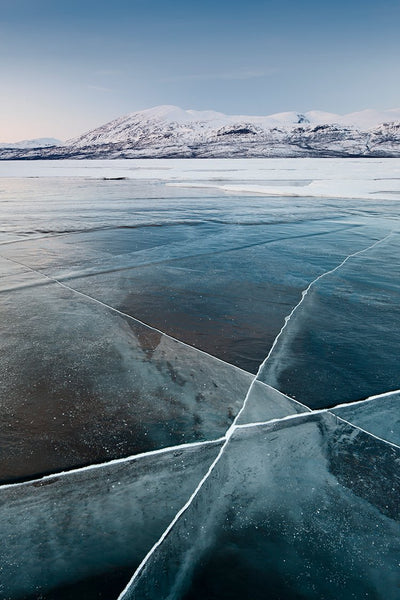 Frozen lake, Abisko, Sweden by Getty Images - FINEPRINT co