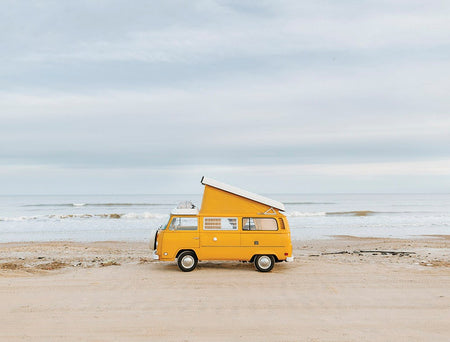 Yellow Kombi Van