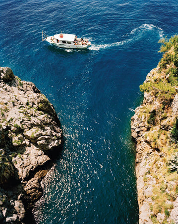 Sailing in Amalfi-Gallery Stock-Fine art print from FINEPRINT co