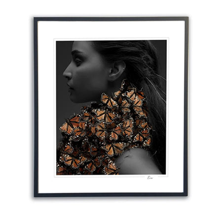 Girl-with-Butterflies Black