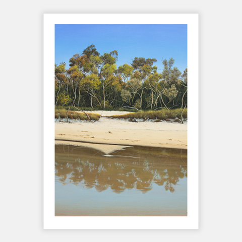 Low Tide At Stumers by James Ainslie - FINEPRINT co