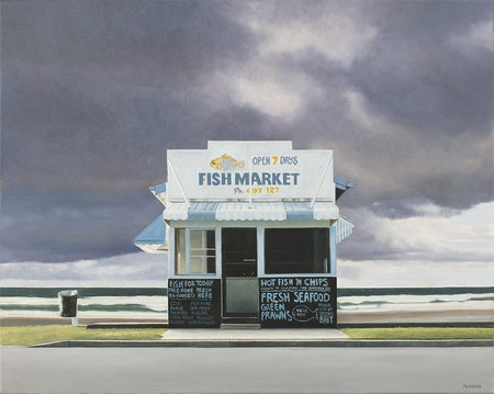 Fish Market by Christopher McVinish - FINEPRINT co
