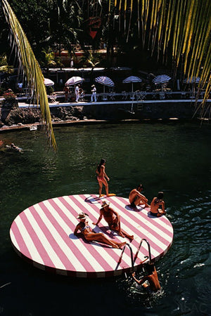 La Concha Beach Club by Slim Aarons - FINEPRINT co
