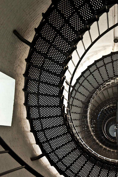 fibonacci-stairwell by FINEPRINT co - FINEPRINT co