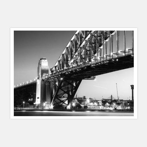 under-the-bridge-bw-2 by FINEPRINT co - FINEPRINT co