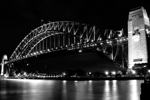 harbour-bridge-bw by FINEPRINT co - FINEPRINT co
