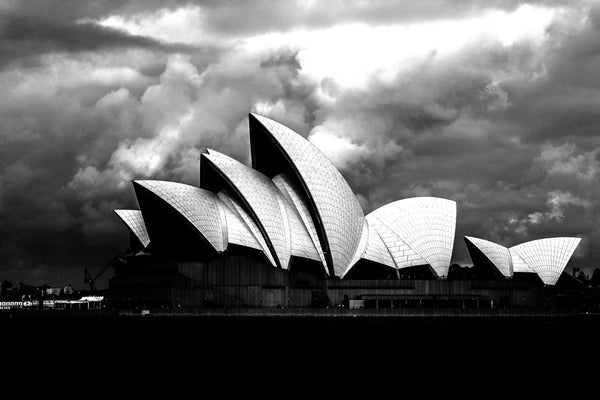 opera-house-historic-bw by FINEPRINT co - FINEPRINT co