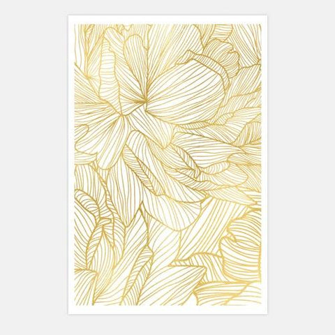 efflorescence-gold by FINEPRINT co - FINEPRINT co