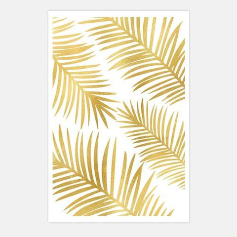palm-leaves by FINEPRINT co - FINEPRINT co