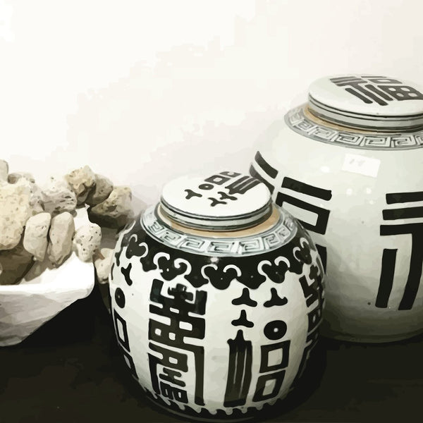 chinese-urns by FINEPRINT co - FINEPRINT co