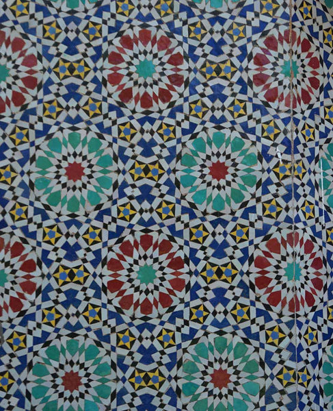moroccan-tiles-2 by FINEPRINT co - FINEPRINT co