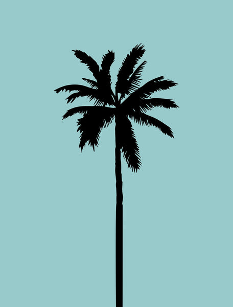 blue-palm-tree-1 by FINEPRINT co - FINEPRINT co