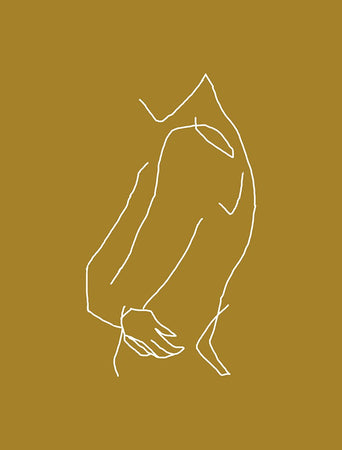 Gold Figure-Open Edition Prints-Fine art print from FINEPRINT co