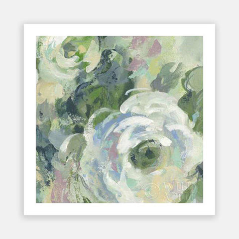 SAGE AND LAVENDER PEONIES III LIGHT