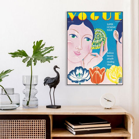 Dec - Jan 1973 Vogue Illustrated cover
