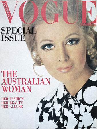 September 1968 Vogue Cover