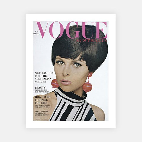 August 1966 Vogue Cover