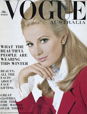 March 1967 Vogue Cover