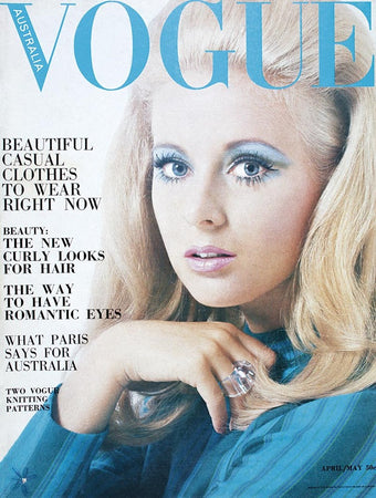 April 1968 Vogue Cover