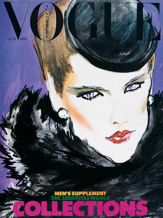 March 1979 Vogue Illustrated Cover