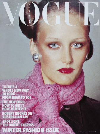 March 1975 Vogue Cover