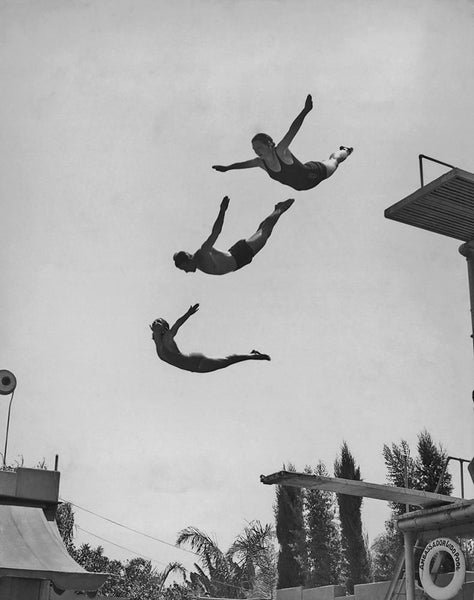 Using The Diving Board by FINEPRINT co - FINEPRINT co