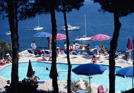 Il Pellicano Hotel-Slim Aarons-Fine art print from FINEPRINT co