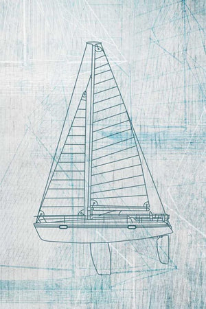 Danielas Sailboat II by POD EXCHANGE - FINEPRINT co