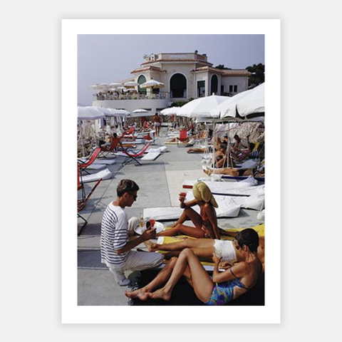 Hotel Du Cap by Slim Aarons - FINEPRINT co