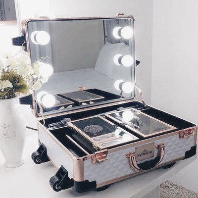 Best 12 Makeup Case with Lights for Travel