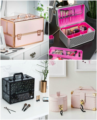 10 Cheap Professional Cosmetic Cases for Girls Who Love Makeup