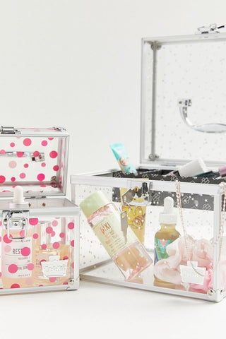 Caboodles Prima Donna Train Makeup Case