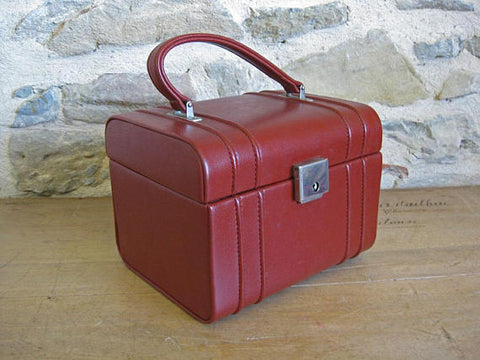 Red Makeup Case