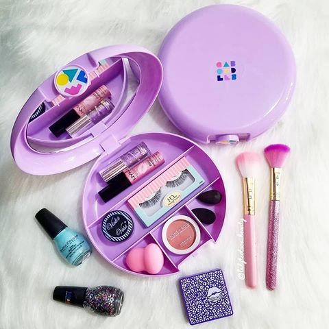 Purple Caboodle Travel Makeup Case