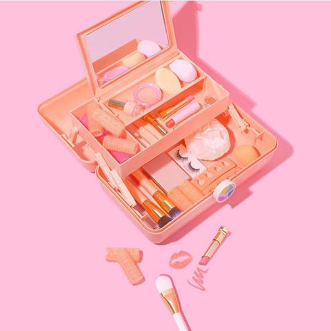 Peach Caboodles Makeup Case