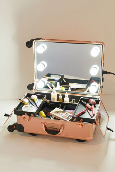 Rolling Makeup Case Lights