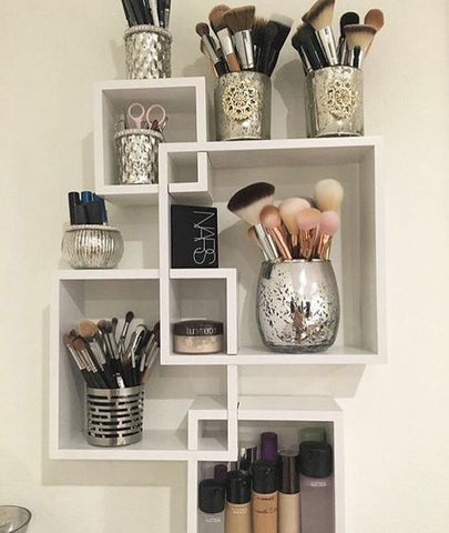 Makeup Wall Shelves