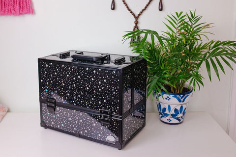 Joligrace Makeup Case Black Star
