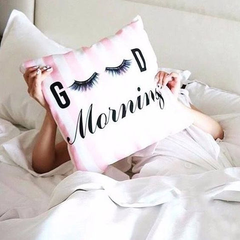 Good Morning Makeup Lash Pillow