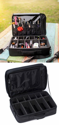 professional large makeup travel bag