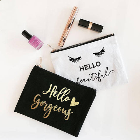 Alphabet Makeup Bag