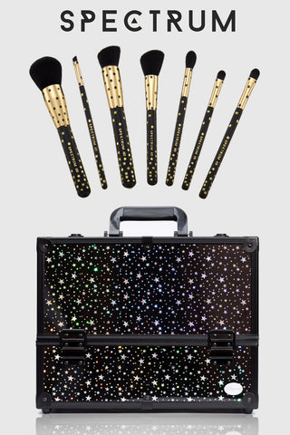 spectrum makeup brushes & joligarce makeup case