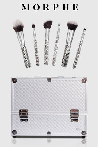 morphe makeup brushes & joligarce makeup case