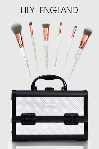 Lily england makeup brushes & joligarce makeup case