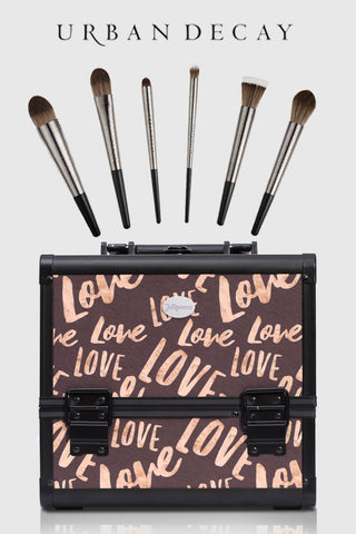 urban decay makeup brushes & joligarce makeup case